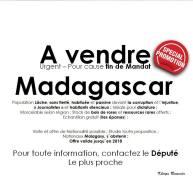 Madagascar à vendre