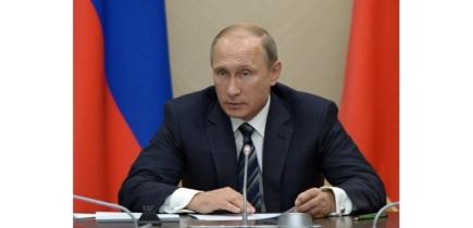 Le président russe Vladimir Poutine dans la résidence de Novo-Ogaryovo près de Moscou, le 30 septembre 2015 (c) Afp