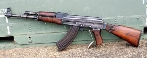 fusil d'assaut AK- 47. Kalachnikov