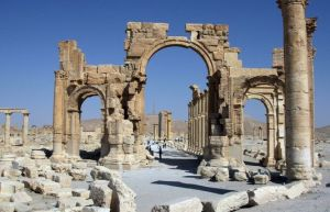 Palmyre. Ph AFP Juin 2010