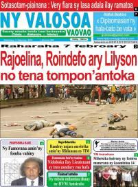 Gazety Valosoa Rakoto 5 février 2015 ·