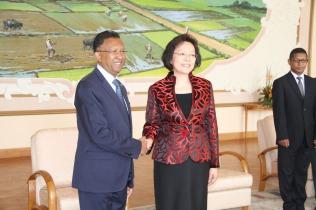 SEMe YANG Xiaorong, Nouvelle Représentante diplomatique de la Chine à Madagascar