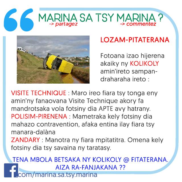 marina sa tsy marina 1
