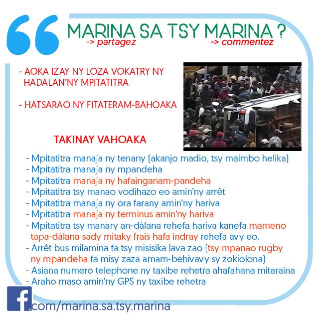marina sa tsy marina 2