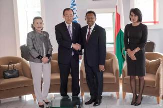 Ban Ki Moon a