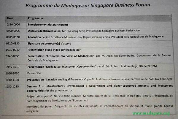Forum Singapour c