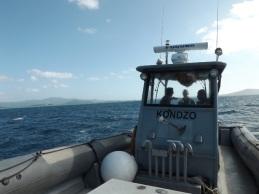 Le Kondzo de la brigade nautique de la gendarmerie