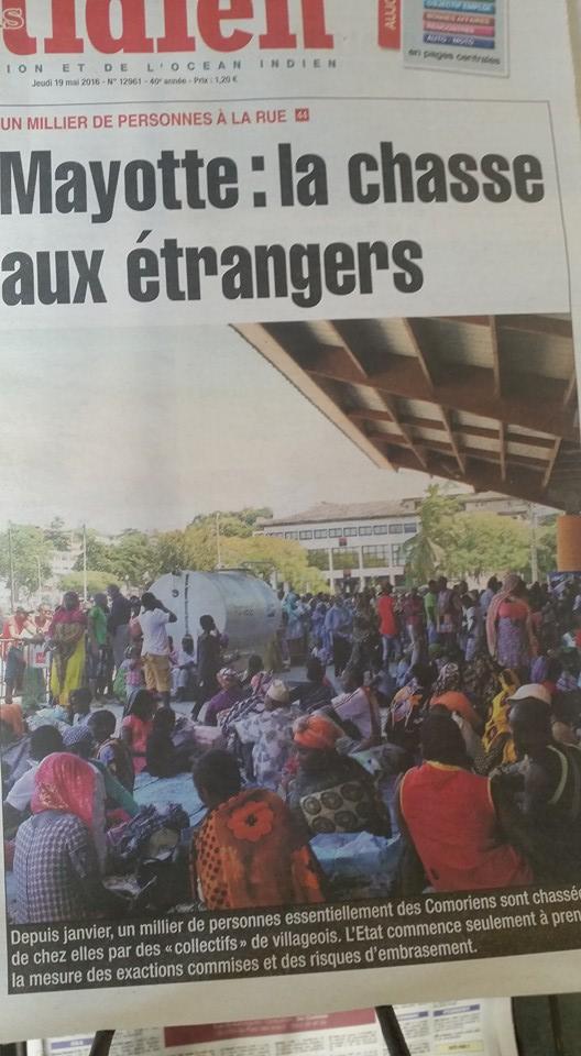 La Chasse aux étrangers à Mayotte