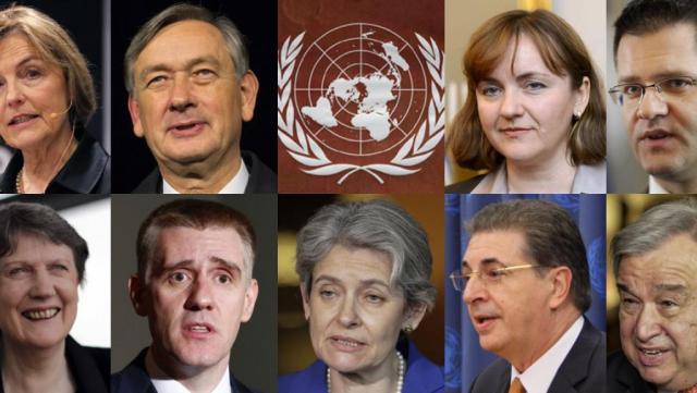 Les candidats ONU