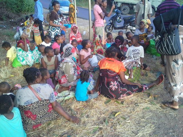 Les Comoriens expulsés