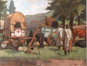 Au marché ROBERT FERNIER (1895-1977)