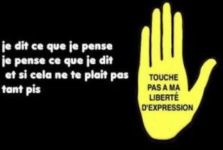 Liberté d'expression. Ph. Rivo Albert