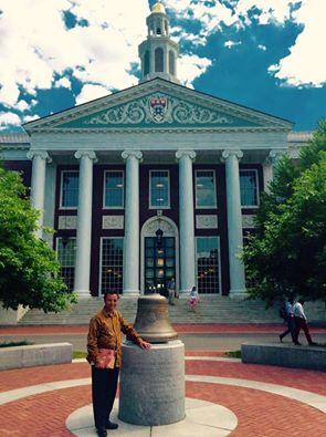 Marc RAVALOMANANA working on the MAP2 at Harvard