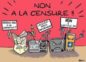 NON à la censure