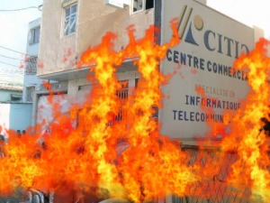 Citic en feu
