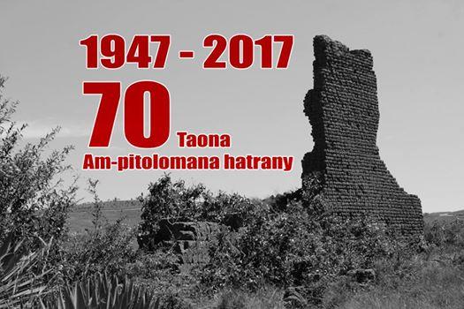 1947 2017, Ph J.L Randriamihoatra