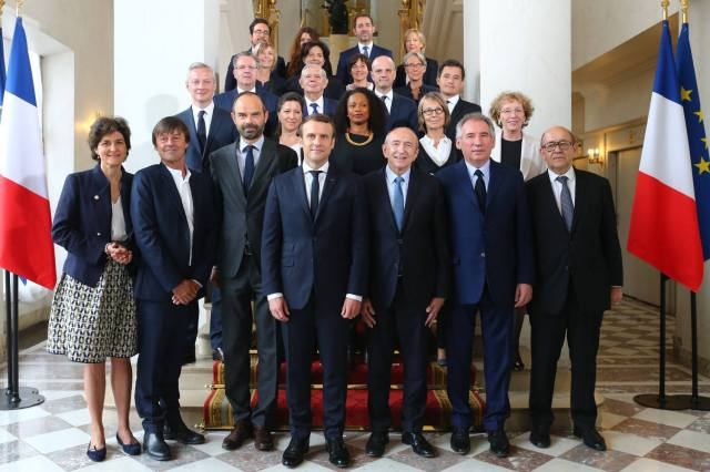 Macron Photo gouvernement
