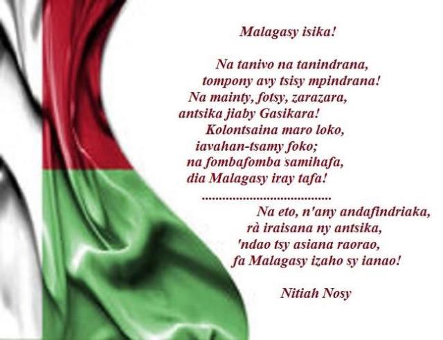 Malagasy isika Nitiah Nosy